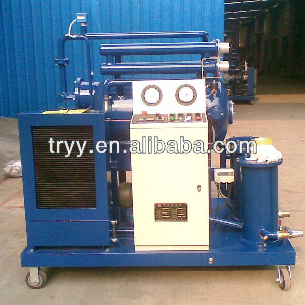 Mechanical industry waste oil recycle machine Vacuum oil purifier