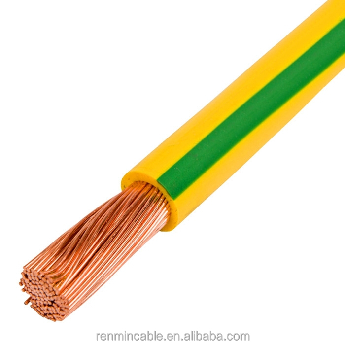 25mm earth grounding cable copper ground cable pvc cable