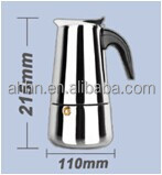 Stainless steel electric economic coffee percolator