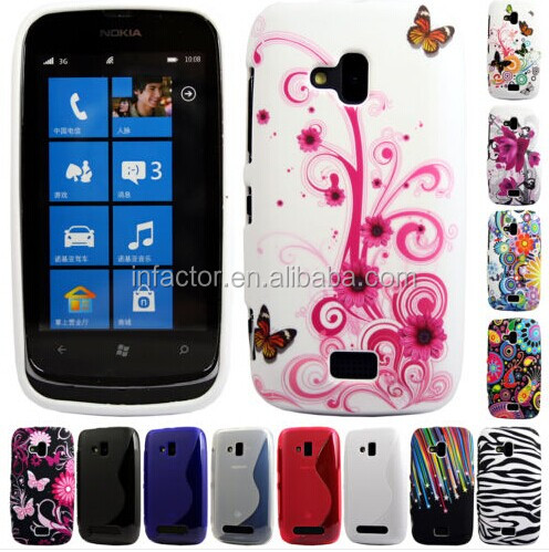Silicone TPU Bumper Case Cover Sleeve Skin For The Nokia Lumia 610