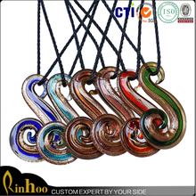Cheap wholesale hot selling fashion pendent, lampwork glass pendant