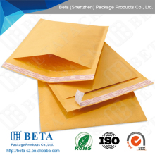Customized Design Widely Used Kraft Bubble Golden Padded Envelopes