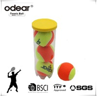 ITF Approval good quality kids stage 2 playing tennis balls and beach tennis ball