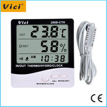 288B-CTH digital temperature hygrometers with 1.5V battery powered