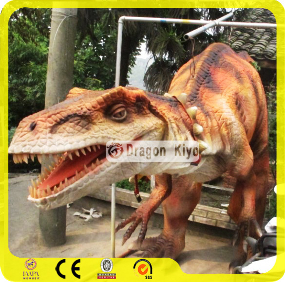 2017 Realistic animatronic dinosaur mascot costume for sale
