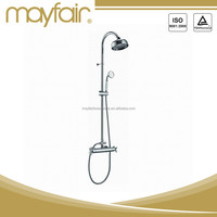 Contemporary bath shower faucet set