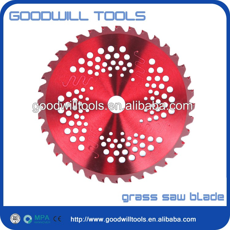 hot sales grass saw blade for cutting brush grass