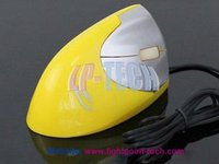 Coloful ergonomic design vertical 3D Optical mouse wired