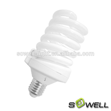 energy saving light T3 full spiral fluorescent tube 11 watt