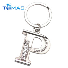 hot sale letter p keychain vners brand