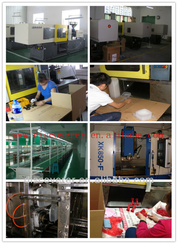 Custom plastic injection mould with 3D drawing service for injection molding plastic parts