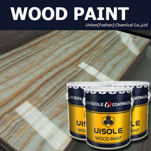 Clear UV Wooden Furniture Paint For Roller Spray Curtain Use