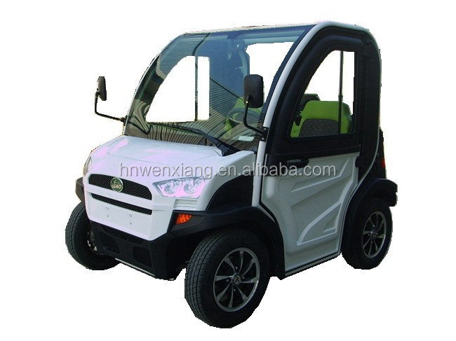 2.8kw AC Motor Two Seater Mini Chinese Electric Car
