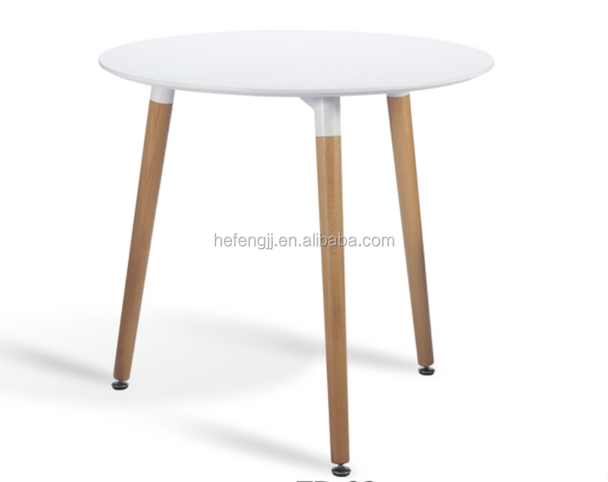 wooden dining set with 4 white plastic chairs dining table