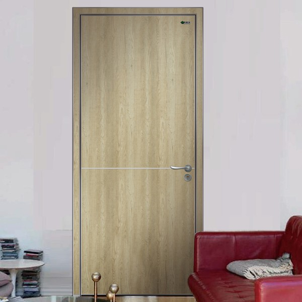 Wood Entry Door Interior Swinging Door