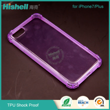 Shenzhen Factory Wholesale Custom Design TPU Non-Slip Cover Case for iphone7/7 Plus