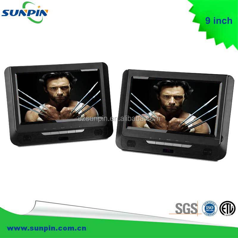 Mobile DVD Player - 9.0''-inch LCD Dual Screen
