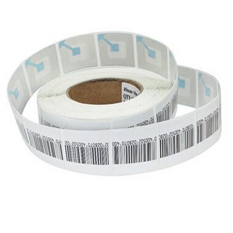 8.2 MHz RF 4x4cm eas Label printable paper label