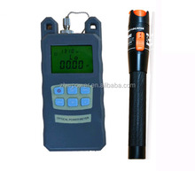 10MW optical fiber power meter TLD power meter , small package optical power meter with vfl