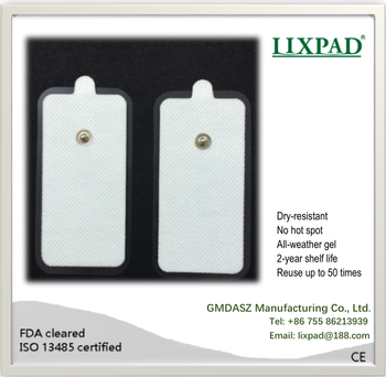 Tens Units electrode pad with pain relief gel, GMDASZ Manufacturing