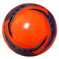 Shiny PVC Machine Sewn Training Soccer Ball New Design Football for Promotional