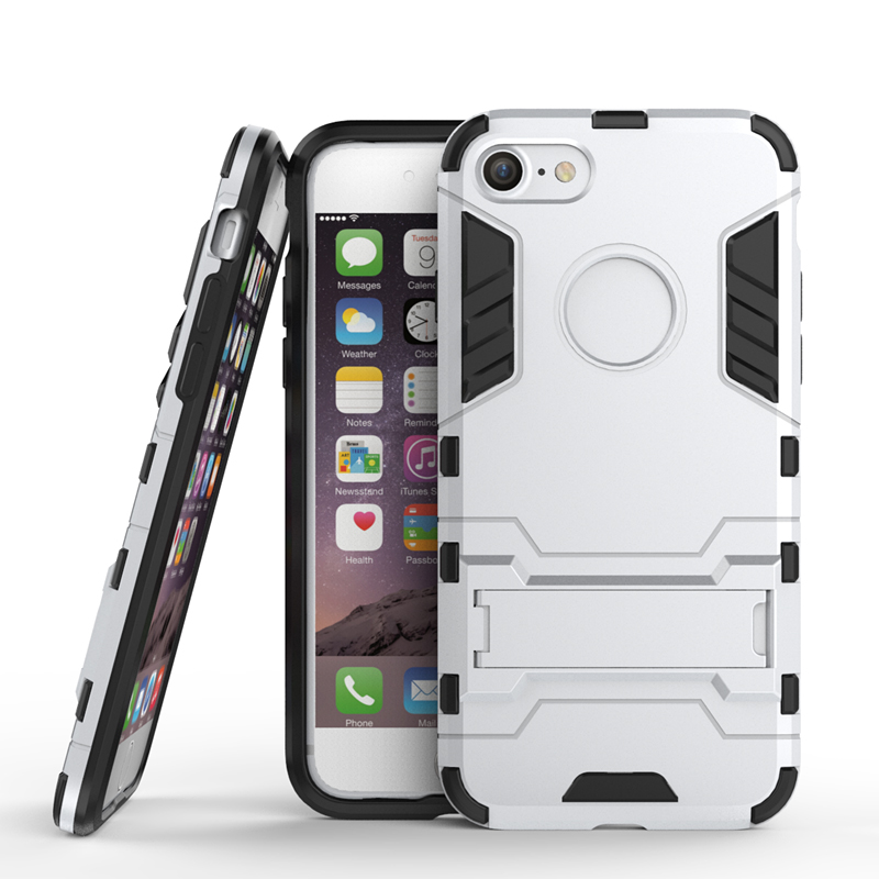 Aokin hard armor belt Case For Apple IPhone 7 <strong>Protective</strong> 2 Neo Case Clip stand shell cover for iphone 7