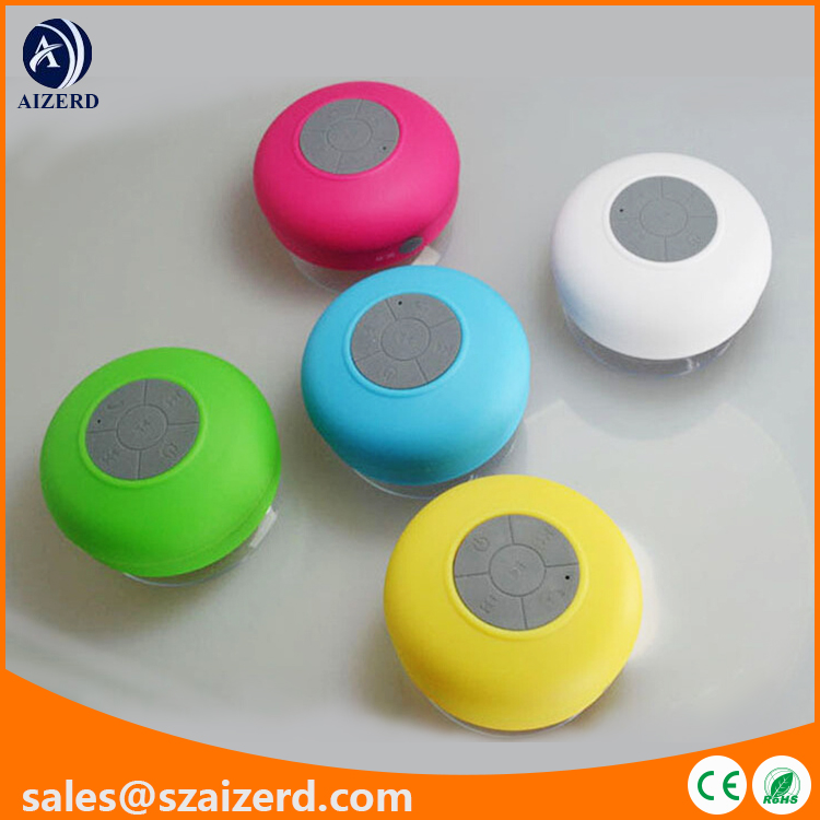 Popular Silicone Waterproof Bluetooth Speaker with Wireless/MP3/MP4/Mobile Phone