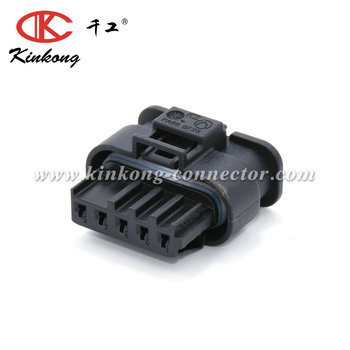 kinkong HIRSCHMANN Original Female 5 pin PA66 GF25 auto connector 872-860-541