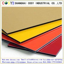 PE/PVDF design aluminum composite panel/acp sheet for architecture