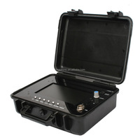 Waterproof :IP68 DC 12V/4500mAh Li-Ion Battery LayFlat & Disk-type Portable Pipe Inspection Camera