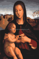 Virgin Mary classial paint diy oil painting by numbers