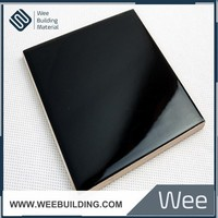 Pure Black Color Ceramic Wall Tiles For House Plans is Best Selling Product