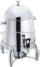 Stainless steel deluxe electric coffee urn