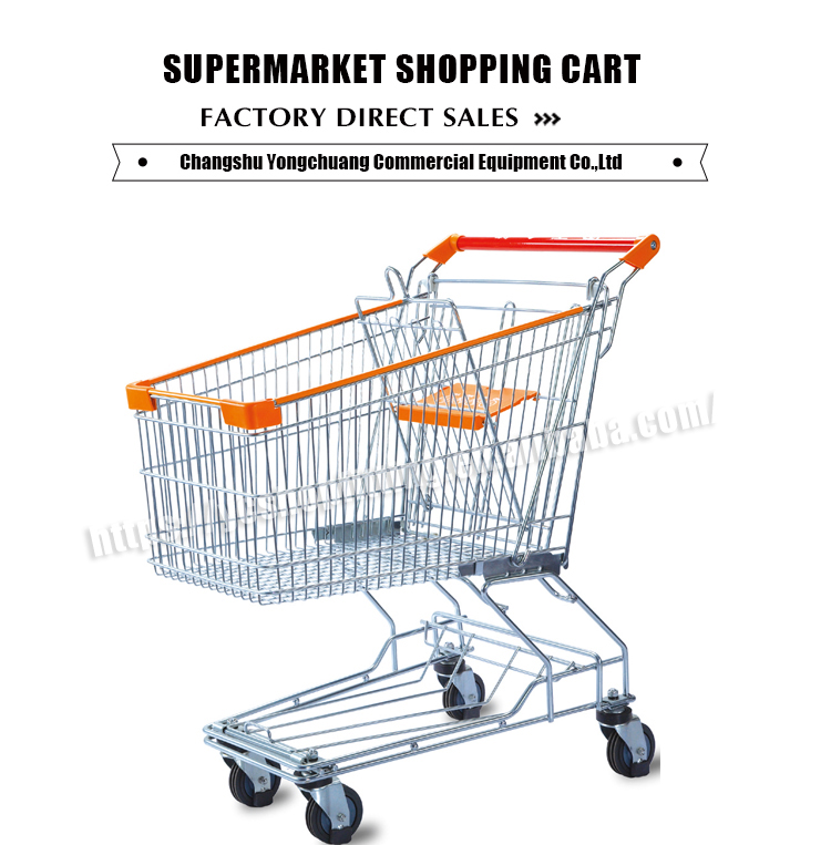 trolleys for supermarkets used container folding cart