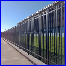 Iron Railing Fencing / Tube Fence Panel / Garden Picket Fence