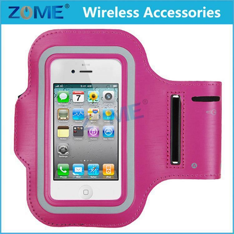 Wholesale Alibaba Mobile Phone Trendy Sport Armband Cover Case For Iphone4/4S/5/5S Armband Badge Holder