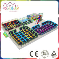 Fantastic indoor trampoline playground, factory price for trampoline bed