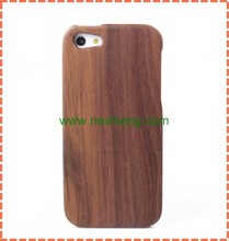 HOT sell Genuine Natural wood case cute cover for iphone5