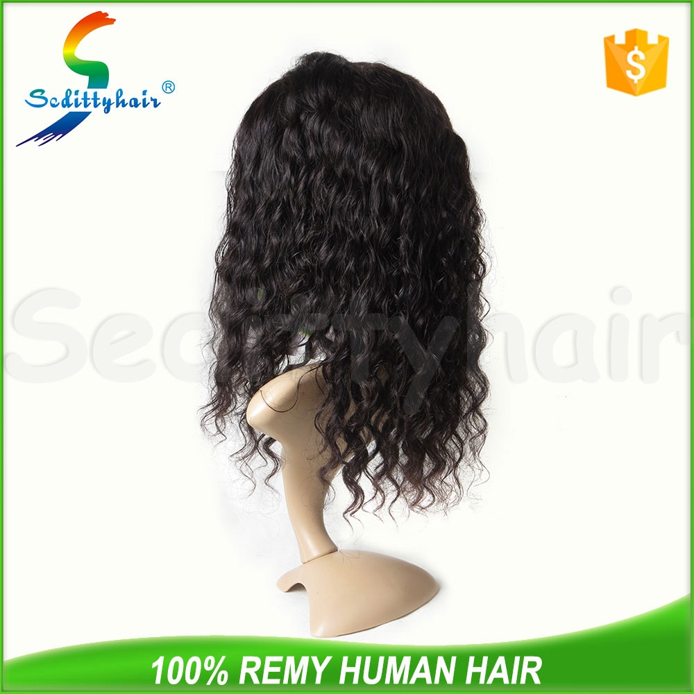 Supply all kinds of Deep Wave french lace for wig making