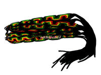 RASTA FRIENDSHIP BRACELETS NEW BAND TIE-ON REGGAE CARNIVAL RED GREEN