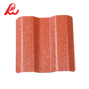 Corrugated pvc sheets royal style plastic pvc roofing tile