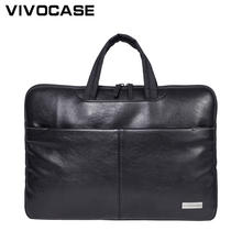 Fashion Business Men PU Leather Laptop Bag Cross Messenger Handbag Cheap Conference Bags