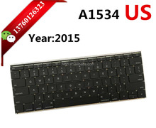 "New Original For Apple MacBook 12 "" Inch Retina A1534 US Keyboard Layout 2015"