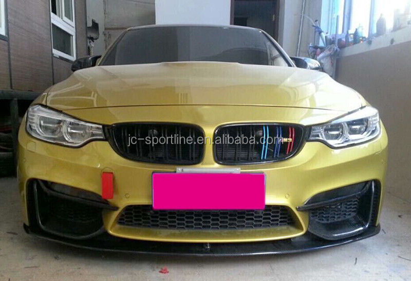 F82 M4 F80 M3 Carbon Fiber Front Bumper Lip for BMW F82 M4 F80 M3 2015