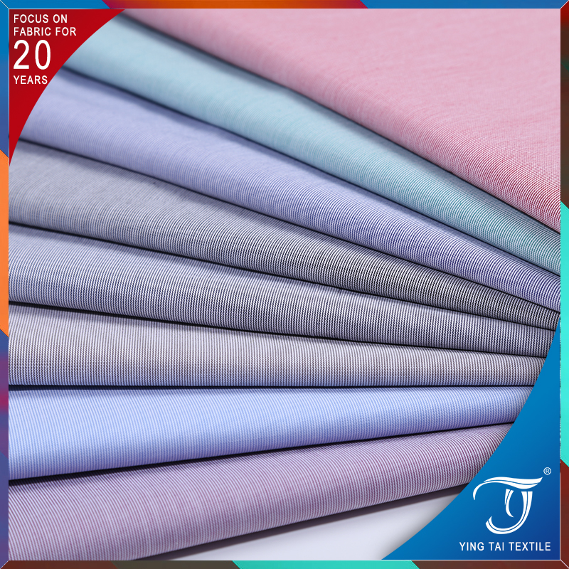 Soft touch 100% cotton check fabric for school uniform