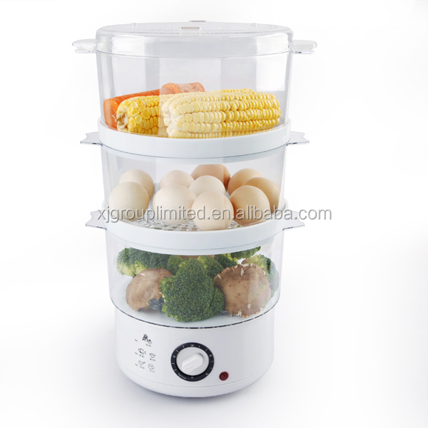 Plastic electric food steamer