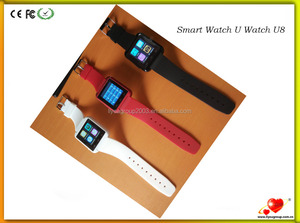 U8 Smart Watch U8 Bluetooth Smart Wrist Watch Phone Mate For Android,Apple,Iphone Smart Watch With Ce Factory Price