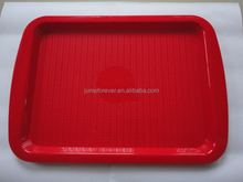 Hotel Plastic Serving Tray/Tray for guest room/Food Plastic Tray Hot Sale