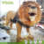 Life Size Animatronic Moving Robotic Lion Fake Fur