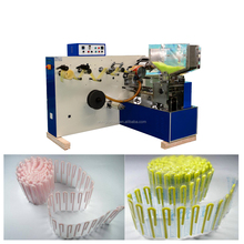 U shape bend flexible drinking straw packing machine